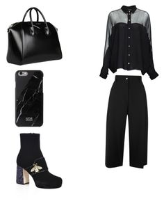 """Untitled #8"" by ana-ioan on Polyvore featuring Gucci, Public School and Givenchy"