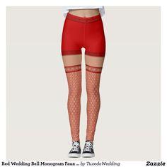 Red Faux Fishnet Hold Ups - Christmas? Halloween Costume idea?  #madebymds #fancydress #costumeparty #halloweencostume