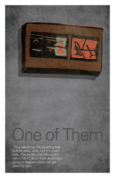 Season 2 - One of Them - LOST Minimalista #caconacuca