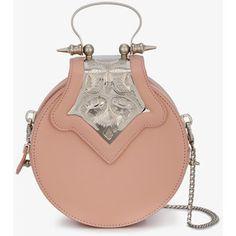 Okhtein Mini Pink Dome Cross Body Bag