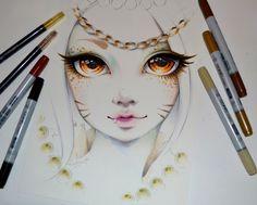 Angelic Ahri Portrait by Lighane on DeviantArt