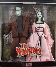 Munsters Barbie and Ken...