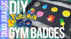 Pokemon Go is STILL controlling my life. So i made these DIY Pokemon Go PokeGym Badges! I made them with Shrinkies because i am awful at Polymer  It's a DIY...