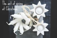 The Act of Giving at Christmas