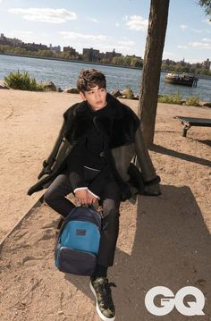 SHINee's Minho Travels to New York City for GQ Pictorial