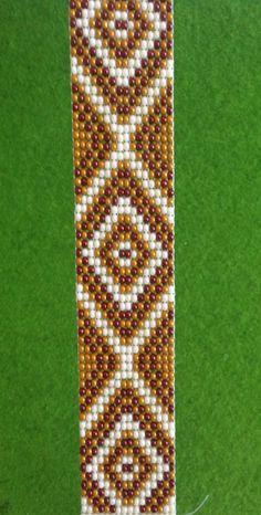 Loom beaded bracelet. Accessories by Lovely0Bracelet on Etsy