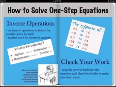 Technology Integration for Math Engagement » Creating Equation iBooks with Book Creator