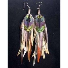 Gallery For > Feather Earrings