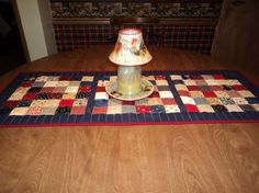 Red White And Blue Americiana Patchwork by Creationsbyweezie, $35.00