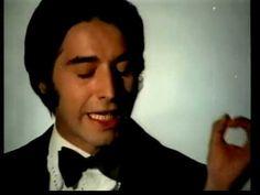 """En 1968, Sandro """"El gitano"""" grabó este hermoso tema que se convirtió rápidamente en un éxito: Yo te Amo."""