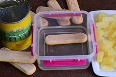 Desert la pahar, cu crema de iaurt si ananas - CAIETUL CU RETETE Food, Meal, Essen, Hoods, Meals, Eten