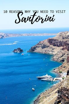 10 reasons why you need to visit Santorini Greece Cityscape Bliss // Travel Journal