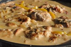 svinemørbrad pebersauce mørbradpande mørbrad i flødesauce mørbrad flødesauce fløde Bacon  Mørbradbøf på pande i fløde pebersauce