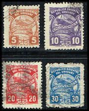 Uruguay #Q70-Q73 Stamps for sale  Ship & Train Stamps  Parcel Post Stamps