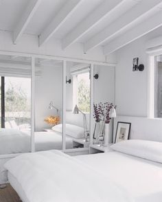 like exposed beams for loft bedroom if works to give more height