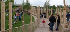 West 8 Urban Design  Landscape Architecture / news / Opening Teahouse and playground in Leidsche Rijn Park