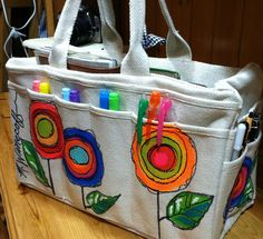 Lucy's Lampshade: Art Journaling Travel Bag!