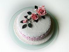 Le Torte di Pezzettiello e non solo...: (Pdz-sap-gumpaste) Anniversario della mia cara ami...