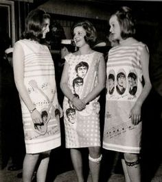 Beatles dresses