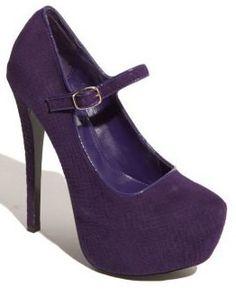 Steve Madden Purple Mary Jane