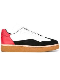 Mens Paul Smith Shoes Black Fable Trainers