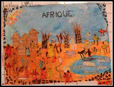 Fresque d'Afrique - Projet RAFARA