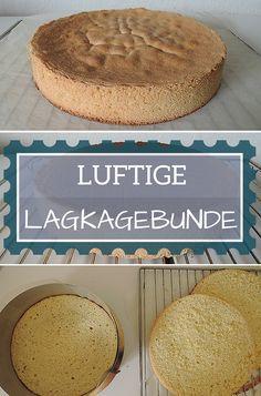 Lagkagebunde i springform (recipe in Danish)