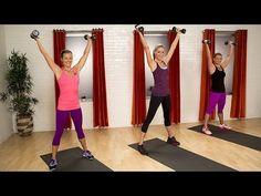 ▶ 10-Minute Fat Burning Workout | Class FitSugar - YouTube
