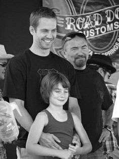 Paul and Meadow and dad
