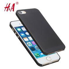 0.3mm ultradunne matte Case cover skin voor iPhone 5 5 S Doorschijnende slanke Zachte plastic Gratis Verzending Mobiel telefoon case