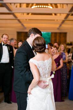 First Dance // Purple Green Wedding Decor // Wildberry Farm South Carolina Wedding // Dana Cubbage Weddings // Charleston SC Wedding Photography