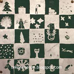 Door Helin, groep 8 Benodigdheden: rood, groen of zwart knutselpapier van 25 bij 25 cm liniaal potlood zilver- of goudkleurige s...