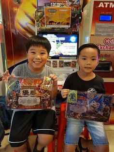 #AnimalKaiser Congratulations to the winners of 1 PM Animal Kaiser Tournament at United Square Shopping Mall- The Kids Learning Mall today 24 September 2017.   1st  : Jarred (left) 2nd : Justus (right)  Dare to dream! Dare to try!  #SAKM #GCATournament #AKTournament #AnimalKaiser #UnitedSquare