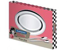 Kit para Salada em Inox 3 Peças - Tramontina Buena 64700210 com as melhores condições você encontra no Magazine Raimundogarcia. Confira!