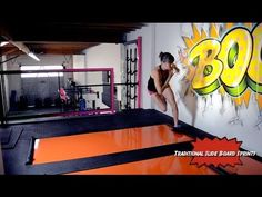 I am getting me one of these! ~C~ 21 Slide Board Exercises for Slide Board Workouts - YouTube