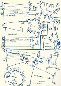 Lutterloh 1938 Book Of Cards -  Models Diagram Card 52