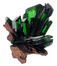 Vivianite from Bolivia wouldn't be cool to find one of theses