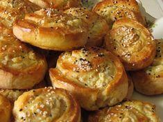 שבלולי גבינה מלוחים - יופי במטבח