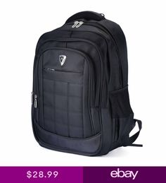 Mens 20 Large Laptop Backpack Travel Business Computer Bag Big Rucksack c7ca5a3236402