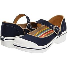 Dansko Valerie canvas in navy, $70  {tried these on at Nordstrom today and fell in love, but didn't buy them...yet}  :)