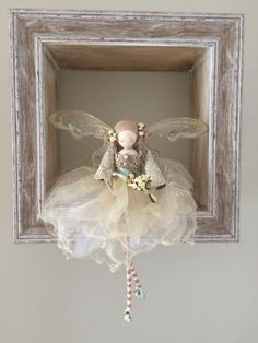 Vintage Bridal/Bridesmaid Fairy от FabulousFairyFactory на Etsy