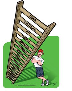 Here's a great Athletic Mindset tool! The Ladder - Tool 2 Knowledge Is Power, Helping Others, Gratitude, Good Morning, Mindset, Health And Wellness, Athlete, Things To Come, Relationship