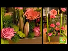 How to Create a Parallel Systems Flower Arrangement! - YouTube