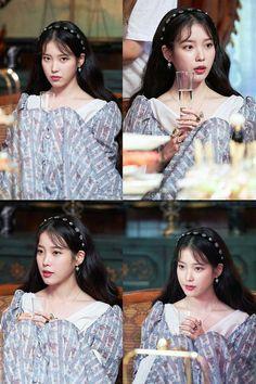 Luna Fashion, Fashion Beauty, Iu Twitter, Iu Hair, Drama Korea, Pretty Men, Kpop Outfits, Beauty Queens, Korean Singer
