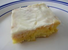 Gooey Lemon Bars #Recipe #Dessert