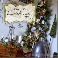 Christmas Tree Rustic Style 2014