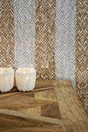 Behang Riviera Maison 18310 Rattan Stripe