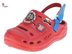 Beppi enfants sabots chaussure de jardin chausson, Rouge, 25 - Chaussures beppi (*Partner-Link)