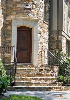 Front entrance/steps Anne Decker Architects   Selected Works   Renovations   Tudor Renovation