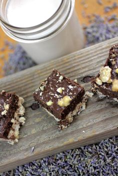 Raw Lavender Walnut Coconut Fudge from Mountain Rose Herbs
